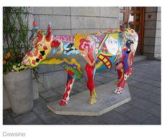 Cow Parade, Stockholm 2004