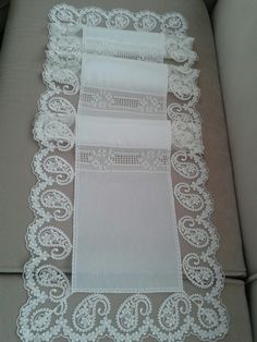 Vintage Crochet Dresses, French Lace, Cutwork, Table Covers, Ribbon Embroidery, Table Runners, Doilies, Sewing Projects, Table Settings