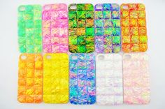 iPhone 5 Case iPhone 5s Case Luxury Handmade by ruchunworkshop, $18.99 Blue
