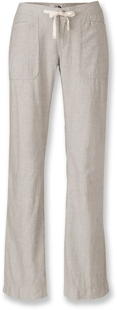 The North Face Larison Linen Pants - Women's - Free Shipping at REI.com