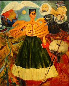 El Marxismo Dara Salud a Los Enfermos/// - Marxism Will Give Health to the Sick - Frida Kahlo