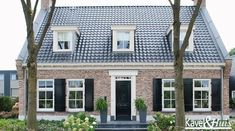 Picture result for brick rural house, Holland House, Rural House, Home Fashion, Country Style, My Dream Home, Bungalow, Beautiful Homes, New Homes, Home And Garden
