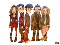 Doctor Who 50th anniversary! by lazyhn