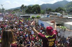 Juan José Mora se desbordó ante el cierre de campaña de Rafael Lacava (+fotos)