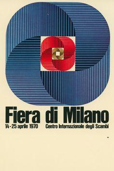 manifesto ufficiale della Fiera Campionaria di Milano, Studio CBC 1970