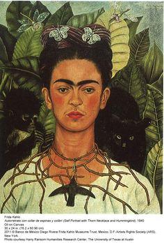 surreal artist  Freda Kahlo