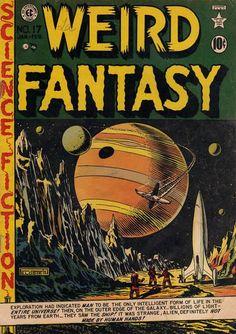 Cover for Weird Fantasy (EC, 1950 series) #17