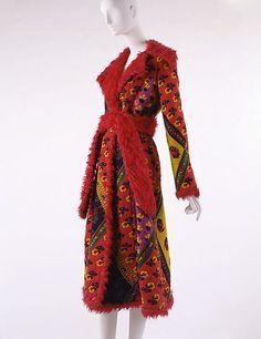 Coat, Giorgio di Sant'Angelo, Fall-Winter 1971-72.