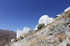Serifos island - main town - Greek islands