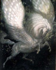 Gothic Pegasus http://cagedcanarynz.blogspot.com/