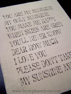 Under The Table and Dreaming: Print Directly on Fabric Using Your Inkjet Printer - Framed Sunshine Printable