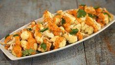 Romesco Sauce over Roasted Cauliflower Recipe | The Chew - ABC.com