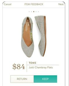 43b1bcaddbc2 Stitch fix Toms Jutti Chambray Flats