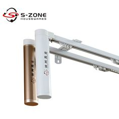 Smart home system Remote controller Electric motorized curtain track - Electric Series--szone curtain rods Curtain Finials, Curtain Rails, Home Theater Curtains, Curtain Track System, Electric Rollers, Cctv Security Systems, Curtain Accessories, Smart Home Automation, Protecting Your Home