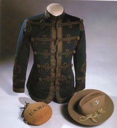 USMC officers Mohair Brade uniform. Spanish American War era.