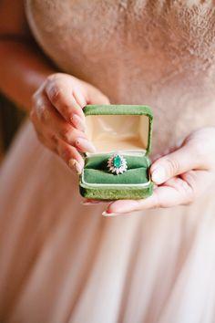 Romantic Vintage-Inspired Surprise Wedding - http://www.stylemepretty.com/california-weddings/2015/06/26/romantic-vintage-inspired-surprise-wedding/