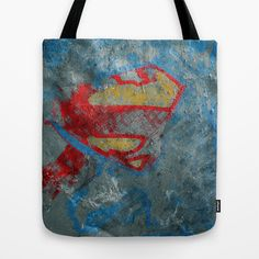 Superman Tote Bag by Fernando Vieira