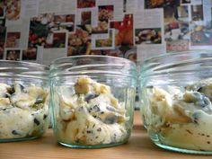 Stracciatella-Kuchen aus dem Glas - sieht super lecker aus und ich liebe Stracciatella :)