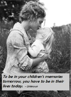 Amen! I will always be here for my babies..each & everyday..listen up.. Word of advice to the dead beats and part time parents!