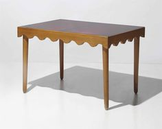 A 1950's table made by JEAN ROYÈRE