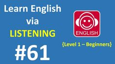 Learn English via Listening Level 1 | Lesson 61 - Manners