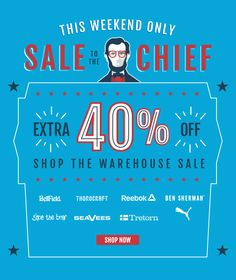The Presidents Day Warehouse Sale. Email Design, Ad Design, Banner Gif, Email Layout, Sale Emails, Presidents Day Sale, Jack Threads, Deal Sale, Best Email
