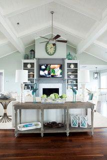 Figure 8 Island - beach style - living room - wilmington - by Amy Tyndall Design