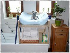 Die 15 Besten Bilder Von Wickeltisch Badewanne Infant Room Kids