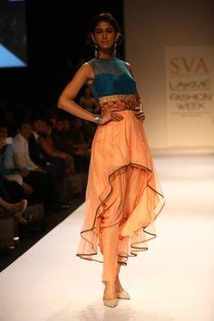 Sonam and Paras Modi of SVA Couture at Lakme Fashion Week winter festive 2013 Pakistani Outfits, Indian Outfits, Indian Clothes, Lakme Fashion Week, India Fashion, Indian Attire, Indian Ethnic Wear, Indian Bridal Fashion, Indian Couture