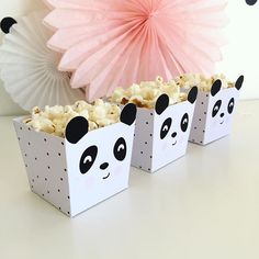 🐼🐼🐼 #partyset #instantdownload #digitaldownload #pandaparty #pandapopcorn #caixasparadoces #caixaspipocas Panda Themed Party, Panda Birthday Party, Panda Party, Bear Party, Bear Birthday, Panda Love, Cute Panda, Theme Bapteme, Panda Baby Showers