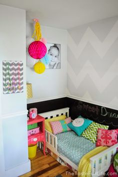 Taste{Full}: Genevieve's Toddler Room + Room for Toys.