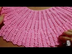 Crochet Clothes, Doilies, Crochet Stitches, Crochet Top, Make It Yourself, Embroidery, Youtube, Places, Beautiful