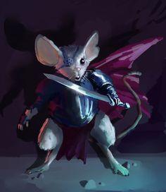 Character inspiration for a Redwall style #fantasy  Mouse Adventurer 2 by mythrilgolem1 on DeviantArt
