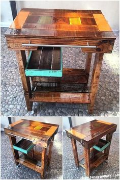 A table with legs could be the proper solution for you. The table can be found in a number of sizes to accommodate any size family. If you're searching for an inexpensive table for your dining space, I'm sure by… Continue Reading → Pallet Crafts, Pallet Projects, Diy Pallet, Pallet Ideas, Pallet Art, Pallet Wood, Wood Crafts, Diy Projects, Pallet Furniture Plans