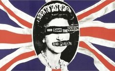 God Save The Queen Sex Pistols album cover by Jamie Reed Johnny Rotten, Iggy Pop, Punk 70s, Rock Roll, Jamie Reed, Cherokee History, Les Aliens, Punk Poster, British Punk