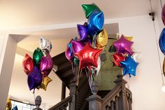 Star balloons at Bonton