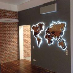 42 bedroom decor for master bedroom decor or boho bedroom KP Design Wood World Map, World Map Decor, World Maps, World Map Design, World Map Wall Art, Map Art, Deco Design, Wall Design, House Design