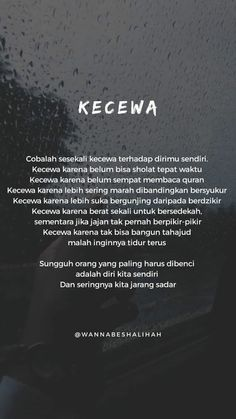 Introspeksi dengan diri sendiri Quotes Rindu, Quotes Lucu, Cinta Quotes, Quotes Galau, Text Quotes, Quran Quotes, Mood Quotes, Positive Quotes, Motivational Quotes