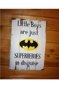 Batman symbol  Little Boys are just SUPERHEROES in by OttCreatives