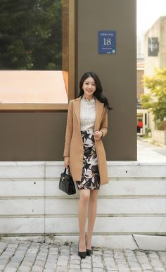Korean Fashion Trends you can Steal – Designer Fashion Tips Work Fashion, Fashion Outfits, Womens Fashion, Fashion Tips, Fashion Design, Korean Fashion Trends, Asian Fashion, Look Office, Professional Outfits