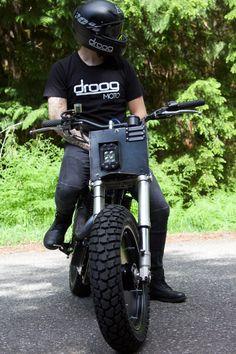 Moto 6 Suzuki Savage By Droog