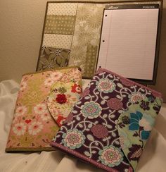Writing Tablet or Notebook Cozy pattern on Craftsy.com