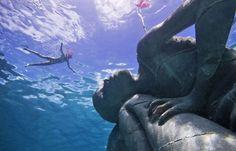 "Juxtapoz Magazine - ""Ocean Atlas,"" the Largest Underwater Sculpture"
