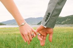 Breckenridge Wedding with Preppy Navy and Yellow Details