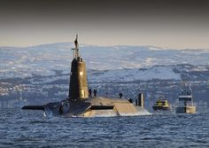 Nuclear Submarine HMS Vanguard Returns to HMNB Clyde, Scotland | Flickr - Photo…