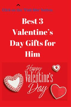 Best 3 Valentine's Day Gifts for Him. Click here --> http://bestandsmartchoice.com/2015/01/valentines-day-gifts-boyfriend/