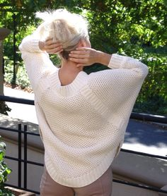 Ravelry: Deluxe Brioche pattern by Tracy Schmittgen The Knitting Station Knit Fashion, Knitting Designs, Hand Knitting, Knit Crochet, Knitting Patterns, Sweaters For Women, Sewing, Cotton, Ravelry