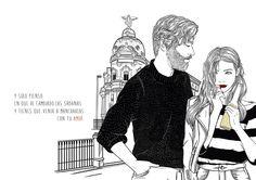 Ilustraciones de Sara Herranz: el amor en los tiempos modernos - Librópatas