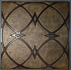- Ceiling Tiles By Us Modern Ceiling Tile, Ceiling Tiles, Ceiling Medallions, Backsplash, Antique Gold, Rugs, Antiques, Pattern, Beautiful