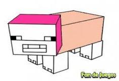 Juego Minecraft, pintar a pig Gratis